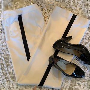 Adam Lippes winter white tuxedo pants